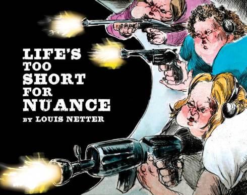 Louis Netter's book of satirical drawings
