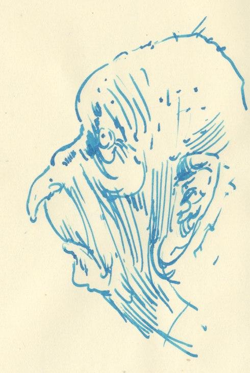 Louis Netter Sketch